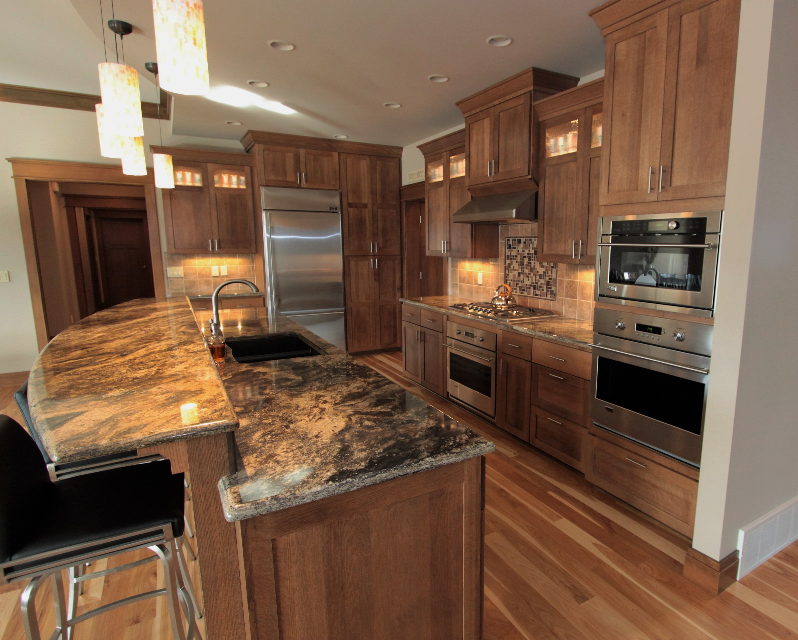 Affordable custom cabinets showroom for Full kitchen pictures